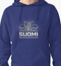Suomi Finland Lion V2 Pullover Hoodie