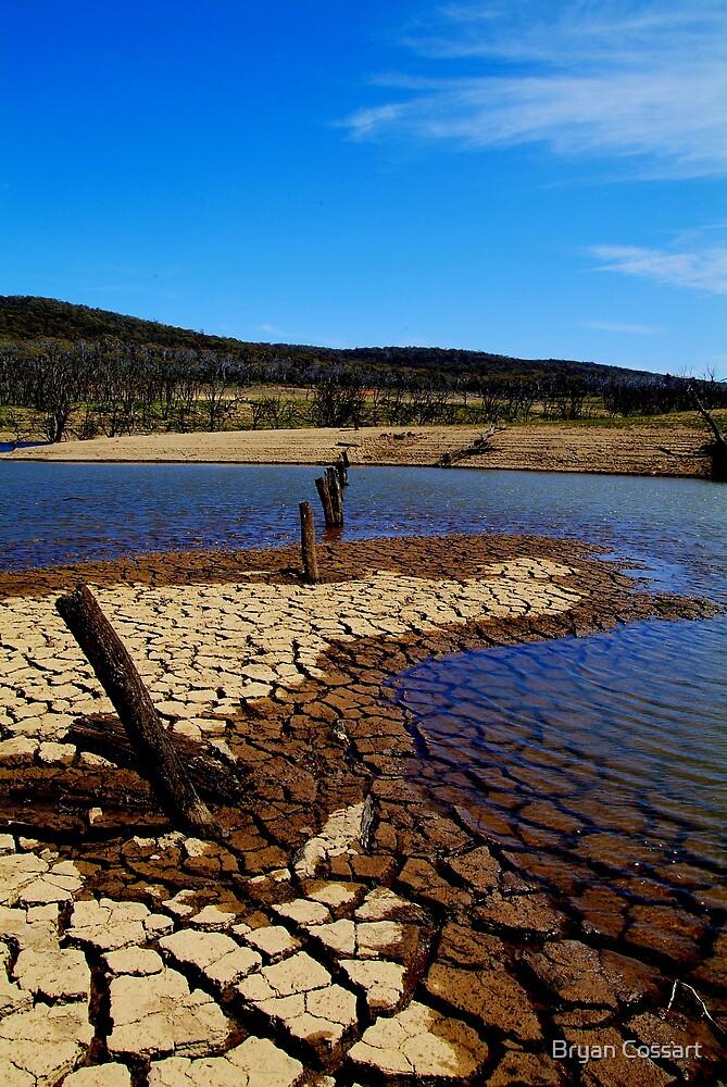 Eucumbene Dam by Bryan Cossart