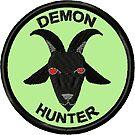 Demon Hunter Geek Merit Badge by storiedthreads