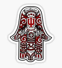 Indiana Hamsa Sticker
