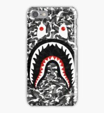 Bape Camo black whait iPhone Case/Skin