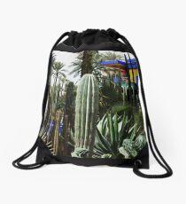 Jardin Majorelle Drawstring Bag