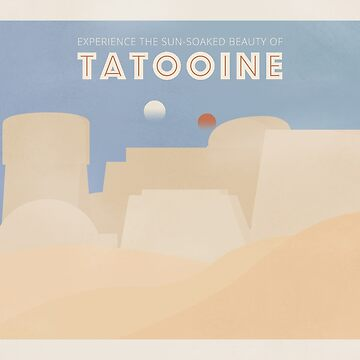Galactic Travel - Tatooine by madgequips
