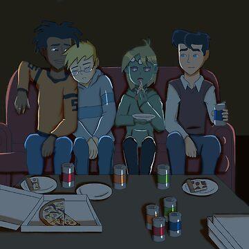Heroes Movie Night by AdrianaC