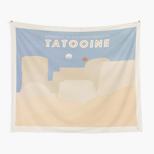 Galactic Travel - Tatooine Tapestry