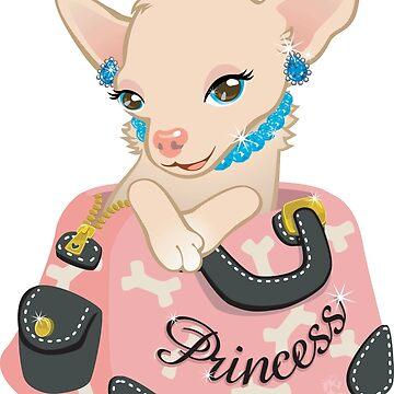 Princess-huahua by CBeeProject
