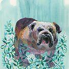 Fancy Bulldog by Eva Crawford