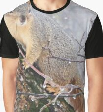 Close up Squirrel Graphic T-Shirt