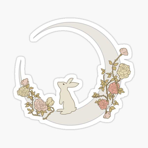 Moon Rabbit Sticker