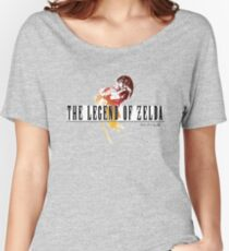 Camiseta ancha para mujer The Legend Of Zelda FF style