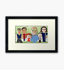 Briones family Framed Print