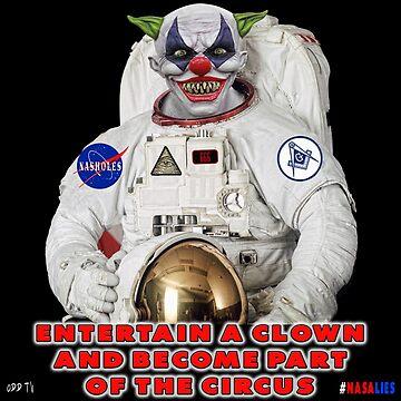 NASA Lies Clown by ODDTV