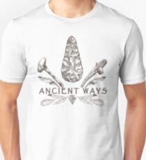Ancient Ways - Primitive Technology & Flintknapping  T-Shirt