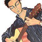 Guitar Man by Giselle Luske