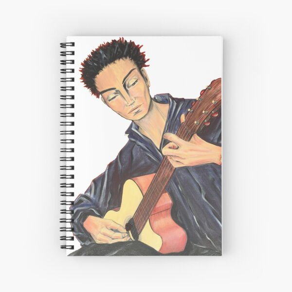 Guitar Man Spiral Notebook