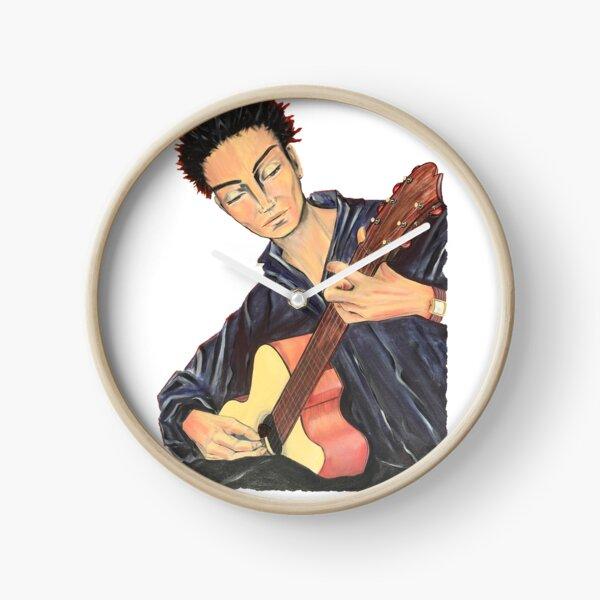 Guitar Man Clock