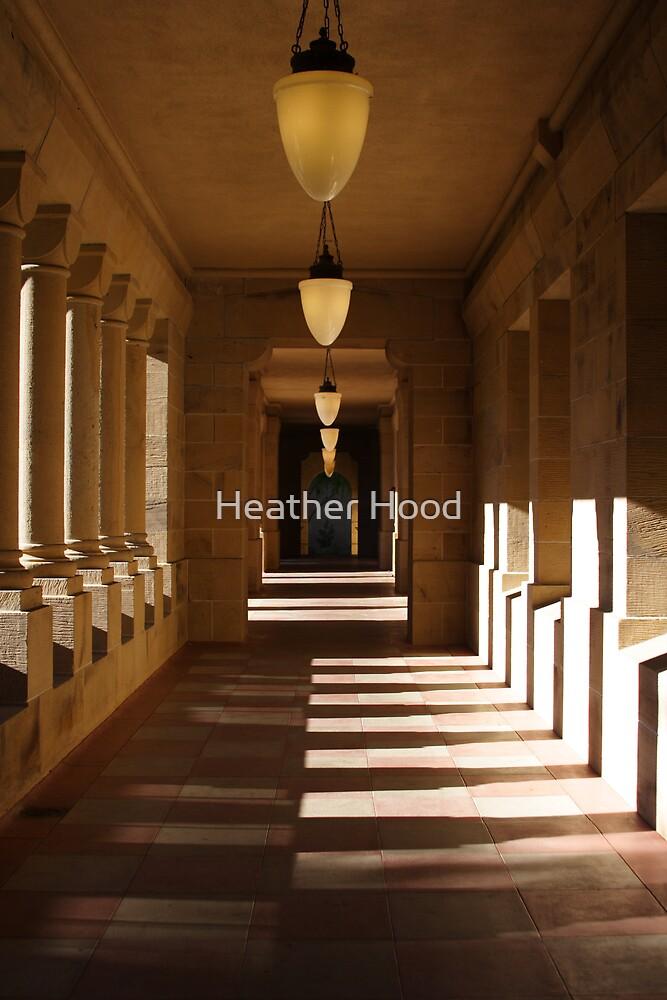 Stone hallway by Heather Hood