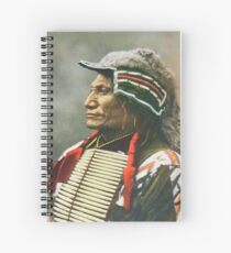 Chief Broken Arm Spiral Notebook
