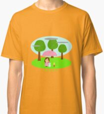 Cathy and the Cat - Rainy day Classic T-Shirt