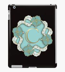 Initial C iPad Case/Skin