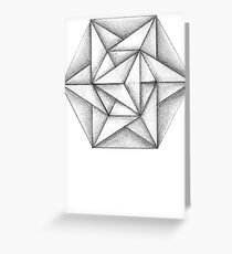 Paper Star 2 Greeting Card