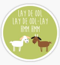 Sound of music goat herd Sticker