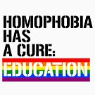 Homophobia has a cure: Education by queeradise