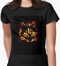 Bengal Cat Womens Fitted T-Shirt