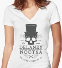 Nootka Company Co Women's Fitted V-Neck T-Shirt
