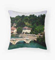 Bridge of Bern Throw Pillow