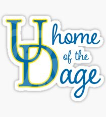 UD Home of the Dage Sticker