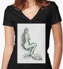 Siren Women's Fitted V-Neck T-Shirt