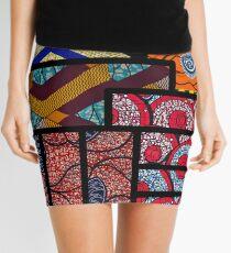 African print Mini Skirt