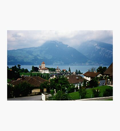 Spiez, Switzerland Photographic Print