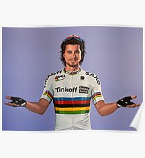 Peter Sagan Painting 1 Poster