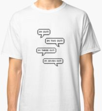 "GOT7 - ""I'm out!"" ""I'm two out!"" ""I'm three out!"" Classic T-Shirt"