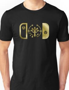 Nintendo Switch Sheikah Symbol Unisex T-Shirt