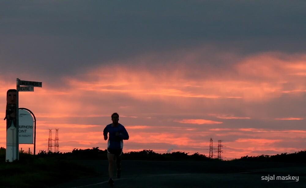 running man by sajal maskey