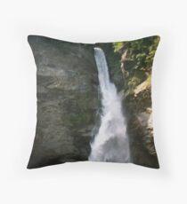 Reichbach Falls Throw Pillow