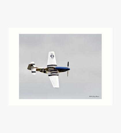 P-51 Flyby Art Print