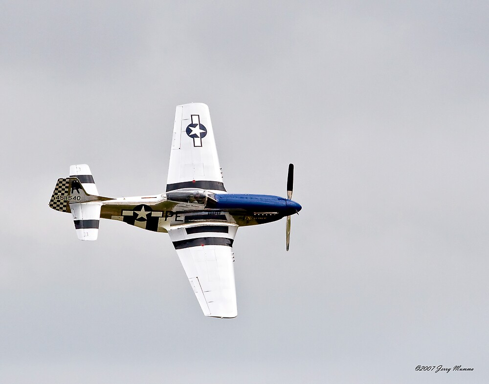 P-51 Flyby by Jerry  Mumma