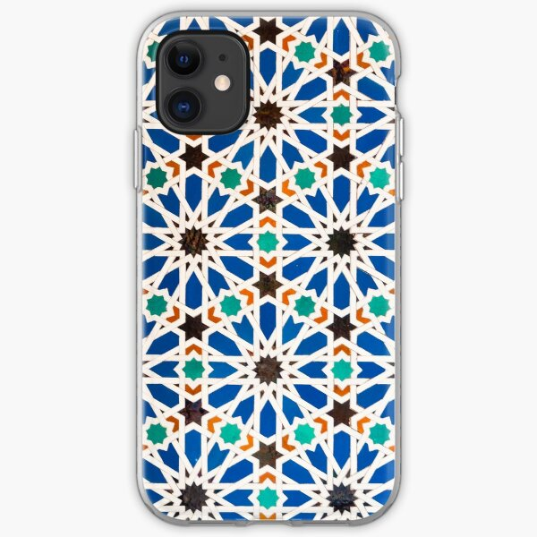 Seville Mosaic - totes, cases, prints iPhone Soft Case