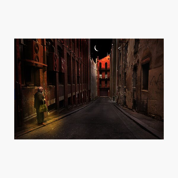 A life on the street Photographic Print