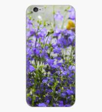 Purple Blue Perennial  iPhone Case