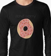 Tshirt Donuts Long Sleeve T-Shirt