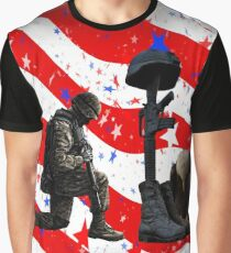 Respect our vets! Graphic T-Shirt