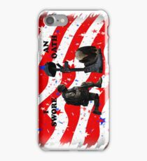 Respect our vets! iPhone Case/Skin