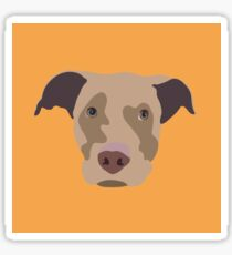 Han the Dog Sticker