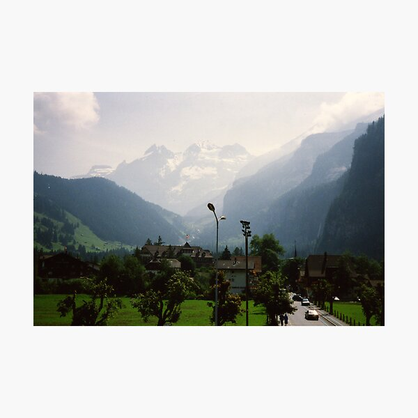 Kandersteg, Switzerland Photographic Print