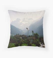 Kandersteg, Switzerland Throw Pillow